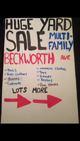 GARAGE SALES!! Multi-family (Beckworth Ave)