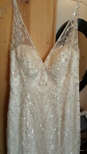 Beautiful never worn wedding dress for sale Campbell River Comox Valley Area image 4