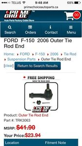 F150 outter tie rod end new in box