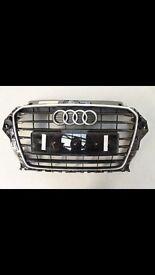 Audi A3 Sline grill genuine