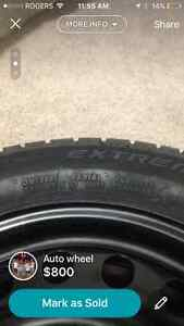 NEW continental extreme winter contact tires Cambridge Kitchener Area image 2