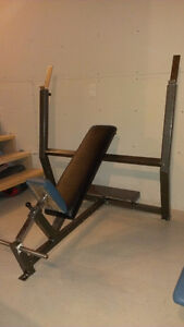 Inclined bench press INDESTRUCTIBLE