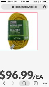 Brand new - OutDoor power cord 30M