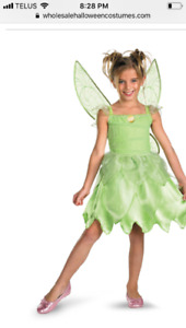 Brand NEW!! Halloween Costume Tinkerbell toddler Girl 3T