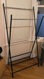 NEW Clothes rail with shoe rack