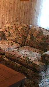 Down two seater sofa couch - 2 available
