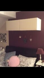 Pair of IKEA wall cupboards