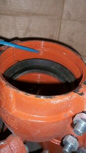 Gruvlok couplings for plastic pipe Yellowknife Northwest Territories image 3