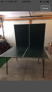 Ping Pong Table/Tennis Table