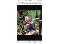 Weeride classic front bike seat