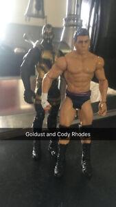 Last one, WWE wrestlers