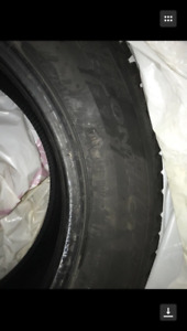 "Continental 15"" (All season tires X 4 + winter  X 4) honda CIVIC"