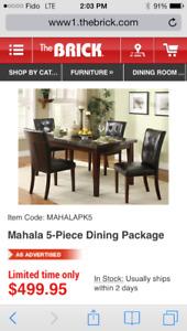 Dinning table set for sale
