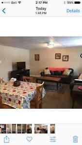 Large 2 bedroom basement apartment