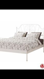 Queens size bed and mattress