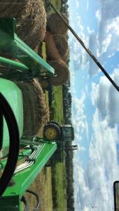 Alfalfa/timothy/brome round bales