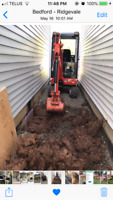 Drain tile, Wet basement /backyard, French drain, Blueskin