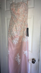 Pink Prom Dress (NEVER WORN!!!)