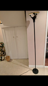 MOSAIC TALL FLOOR LAMP! *$30* purchased $120 from auction