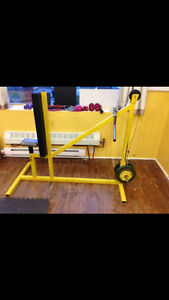 Row machine (with chest support)