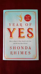 Year of YES! By Shonda Rhimes