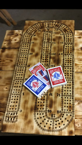 home crafted crib boards