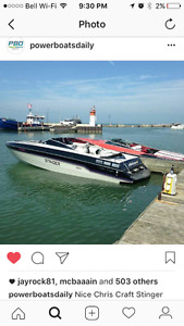 1987 26' CHRIS CRAFT STINGER (offshore) twin 350s
