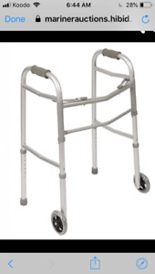 Brand new walker and wheelchair