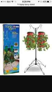 Used topsy turvy stand
