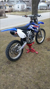 NEED GONE 2009 yz250f