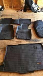 COMPLETE SET OF WEATHER TECH FLOOR LINERS FOR  HYUNDIA VELOSTER