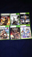12 xbox 360 games for sale 15each
