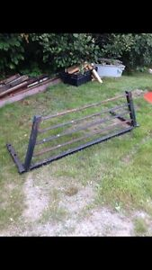 Back rack for a chev pickup