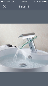 Robinet waterfall faucet