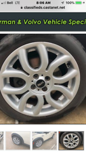 17 INCH MINI RIMS ONLY ($600)
