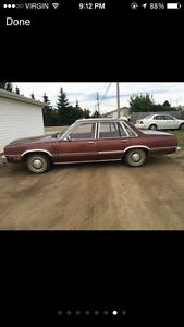 83 mercury zephyr with inspection!