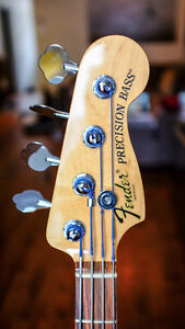 American Deluxe P-Bass Fender - Mint Condition! No Trades.