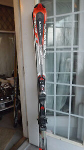 Rossignol Zenith 165 cm comes with bindings