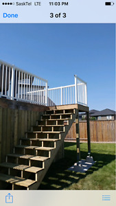 Fence and decks!!! Siding and more