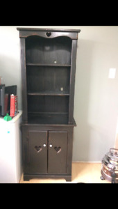 Country cupboard hutch and chest