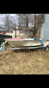 Fishing Boat and New trailer