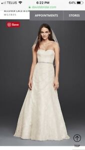 Wedding dress, size 10-12