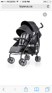 DOUBLE umbrella stroller
