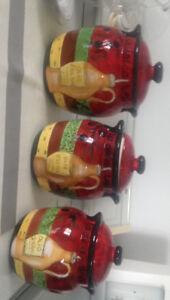 Trois pots