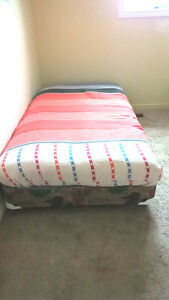 Ultra Thick Twin Mattress with Boxspring for sale