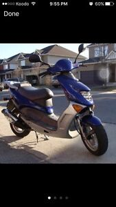 Scooter (gas powered)