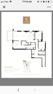 Eton 3 bedroom new condo for rent ,now avaiable (UBC campus)