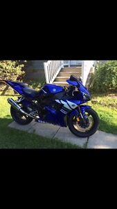 Yamaha yzf R1 bleu condition showroom
