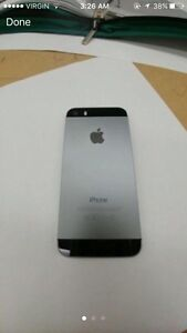 Black/Silver IPHONE 5S