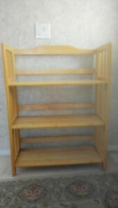 shelve - folding solid pine